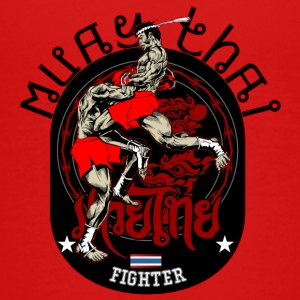 Muay Thai Fighter - Kids' Premium T-Shirt