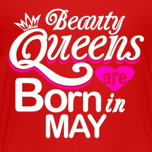 Beauty Queens Born in May - Kids' Premium T-Shirt