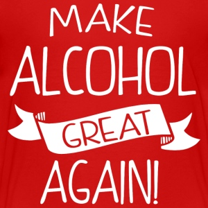 Make alcohol great again - Kids' Premium T-Shirt