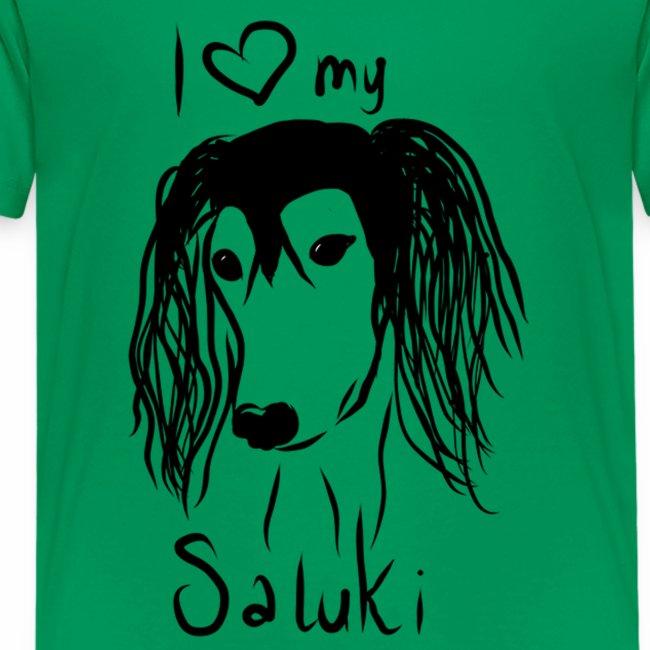 I love my saluki