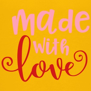 Made With Love Baby Infant Valentine - Kids' Premium T-Shirt
