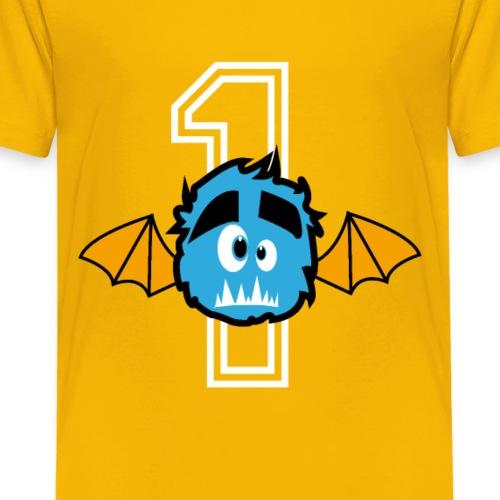 Little Monster Number one - Kids' Premium T-Shirt