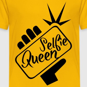 Selfie_Queen - Kids' Premium T-Shirt