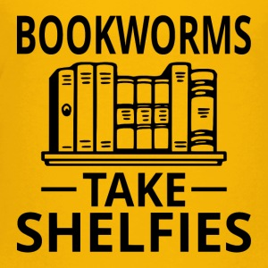 Bookworms Take Shelfies - Kids' Premium T-Shirt