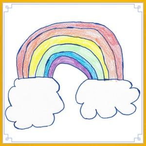 My First Rainbow - Kids' Premium T-Shirt
