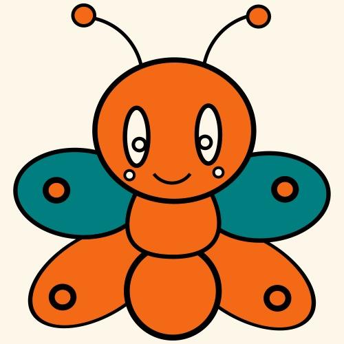 Cute Butterfly - Kids' Premium T-Shirt