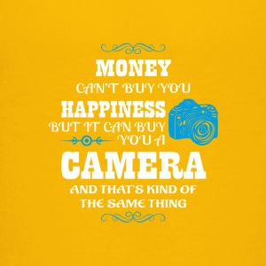 Camera sayings/quote T-shirt design - Kids' Premium T-Shirt