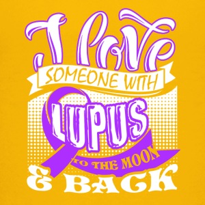I Love Someone With Lupus Shirt - Kids' Premium T-Shirt