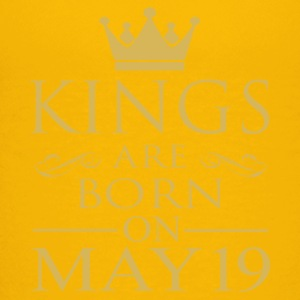 Kings are born on May 19 - Kids' Premium T-Shirt