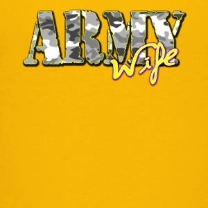 Proud Army Wife - Kids' Premium T-Shirt