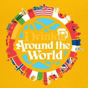drink around the world - Kids' Premium T-Shirt