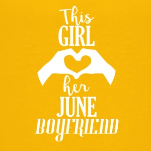 This Girl loves her June Boyfriend - Kids' Premium T-Shirt