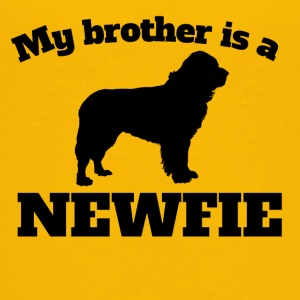 My Brother Is A Newfie - Kids' Premium T-Shirt
