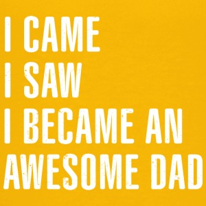 I Came I Saw I Became An Awesome Dad - Kids' Premium T-Shirt