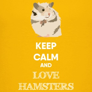 KEEP CALM AND LOVE HAMSTERS - Kids' Premium T-Shirt