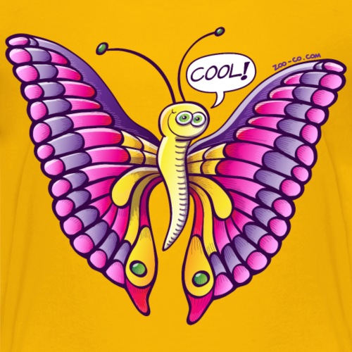 Coolorful Butterfly - Kids' Premium T-Shirt