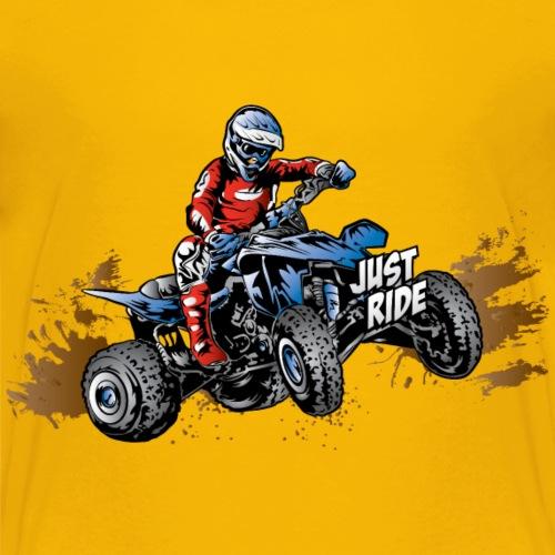 Just Ride Off-Road Quad - Kids' Premium T-Shirt