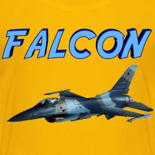 F-16 Fighting Falcon - Kids' Premium T-Shirt