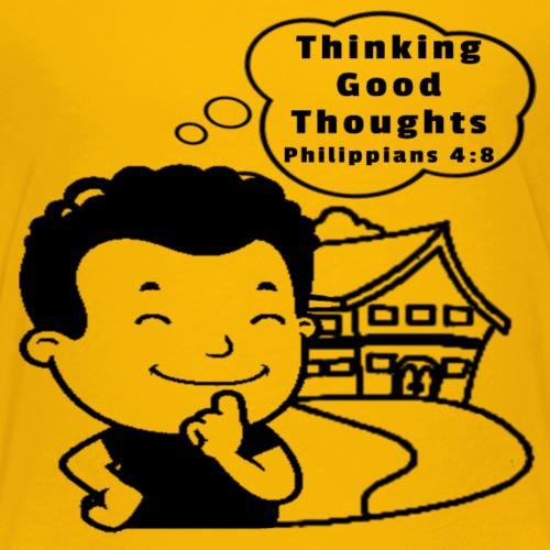 Thinking Good Thoughts Philippians 4:8 - Kids' Premium T-Shirt