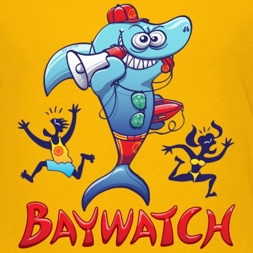 Baywatch Shark - Kids' Premium T-Shirt