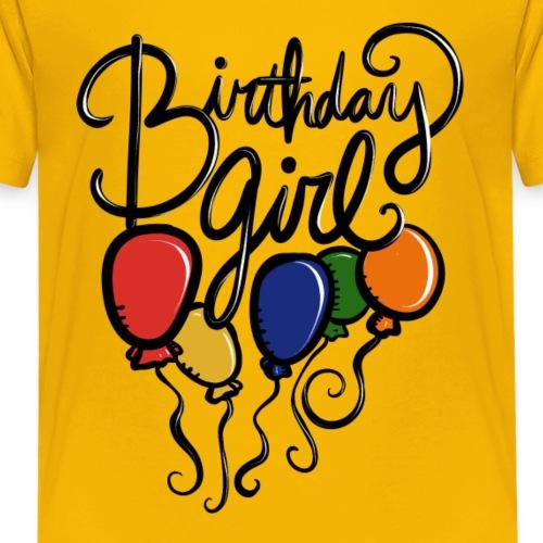 birthday girl - Kids' Premium T-Shirt