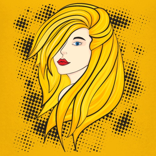 Blonde girl - Kids' Premium T-Shirt
