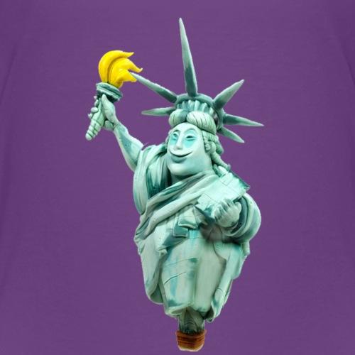 Banana Statue of Liberty - Kids' Premium T-Shirt