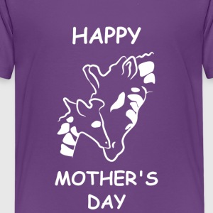 Giraffe MOTHERS DAY Arpil - Kids' Premium T-Shirt