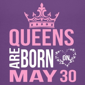 Queens are born on May 30 - Kids' Premium T-Shirt