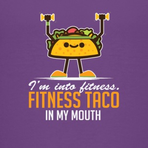 I'm Into Fitness Taco In My Mouth - Kids' Premium T-Shirt