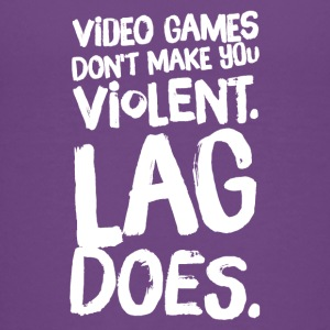 Video games don't make you violent lag does - Kids' Premium T-Shirt