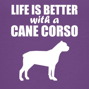 Life Is Better With A Cane Corso - Kids' Premium T-Shirt