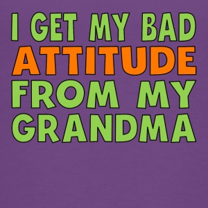 I Get My Bad Attitude From My Grandma - Kids' Premium T-Shirt
