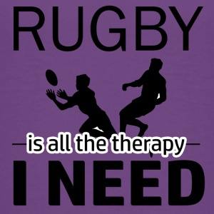 Rugby is my therapy - Kids' Premium T-Shirt
