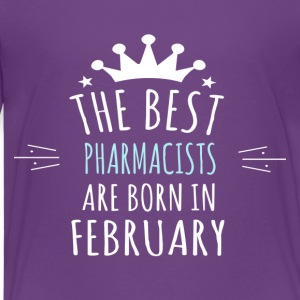 Best PHARMACISTS are born in february - Kids' Premium T-Shirt