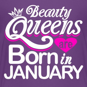 Beauty Queens Born in January - Kids' Premium T-Shirt