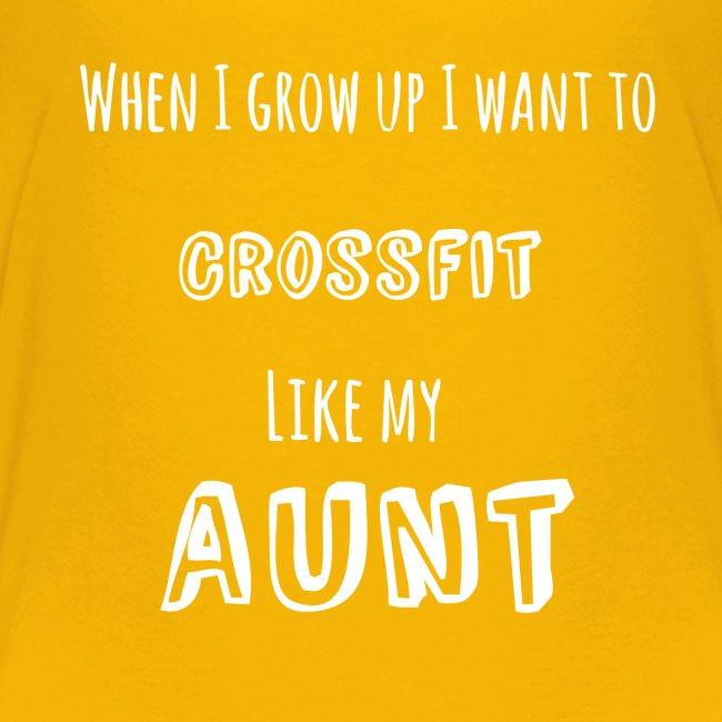 crossfit like aunt (white)