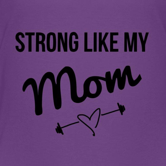 strong like my mom (black)