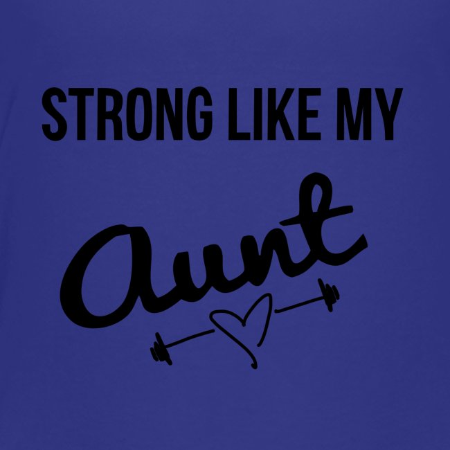 strong like my aunt (black)