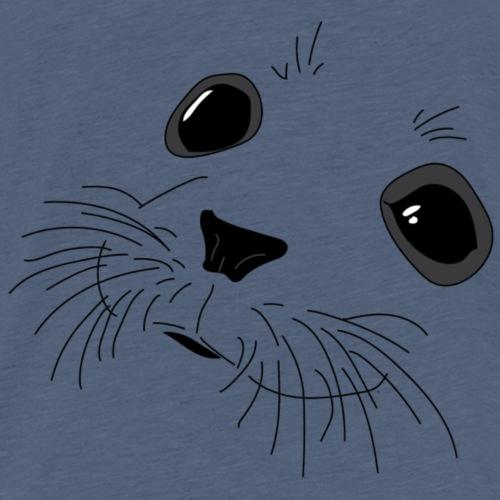 Seal Face (Front) Logo (Back) - Kids' Premium T-Shirt