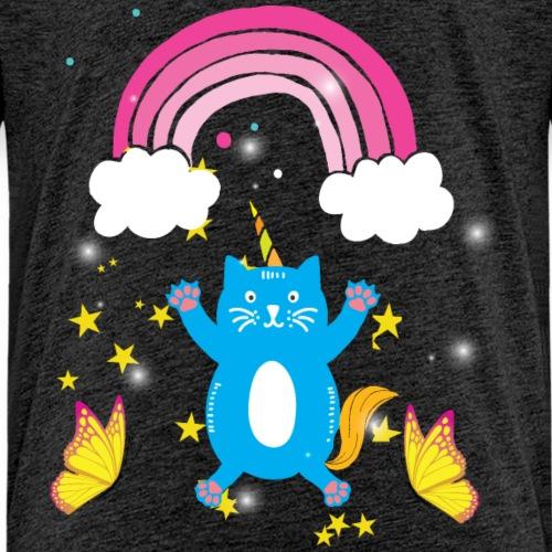 cat rainbow - Kids' Premium T-Shirt