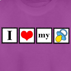 love my pacifier - Kids' Premium T-Shirt