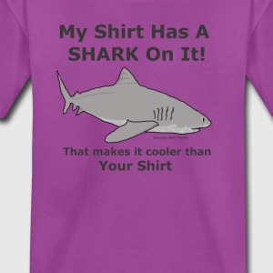 My Shark Shirt is Cooler Than Your Shirt - Kids' Premium T-Shirt
