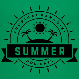 Tropical Paradise Summer Holidays - Kids' Premium T-Shirt