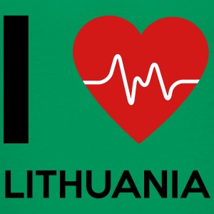 I Love Lithuania - Kids' Premium T-Shirt