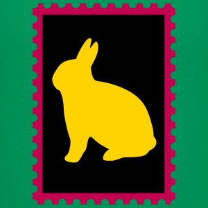 stamp with bunny - Kids' Premium T-Shirt