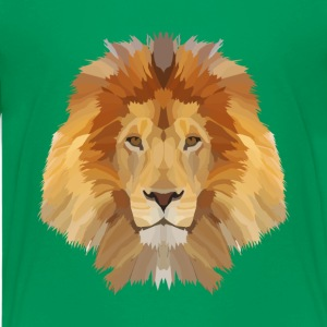 Low Poly Lion - Kids' Premium T-Shirt