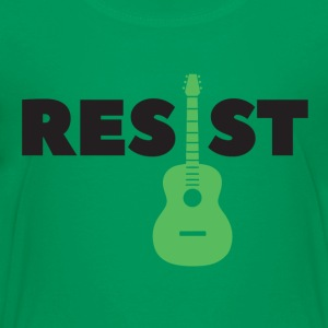 resist guitar - Kids' Premium T-Shirt