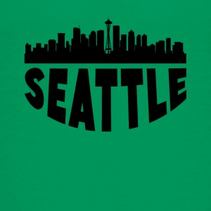 Seattle WA Cityscape Skyline - Kids' Premium T-Shirt