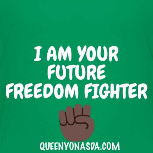 FUTURE FREEDOM FIGHTER - Kids' Premium T-Shirt